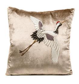 Cushion / Crane bird