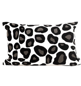 Cushion with leopard print