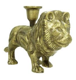 Lion candlestick