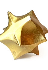 Gold metal decoration object