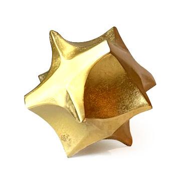 Goud metalen decoratie ornament