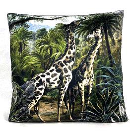 Giraffes sierkussen
