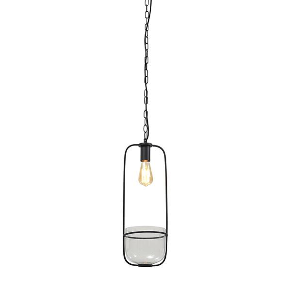 Moderne design hanglamp met bloempot