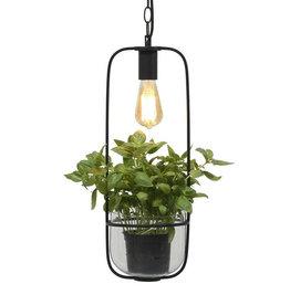 Hanglamp met pot