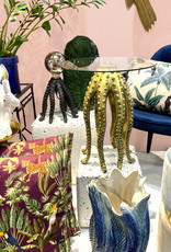 Black octopus side table