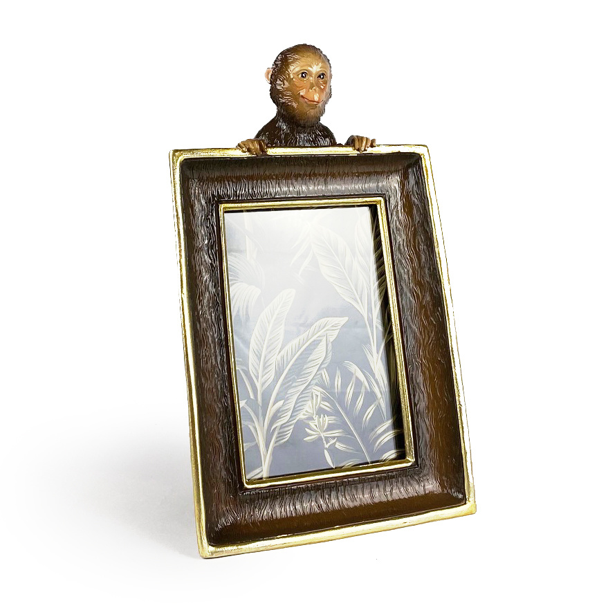 Monkey picture frame