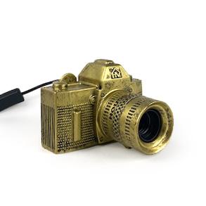 Gold camera lamp