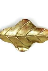 Gouden bananenblad schaal