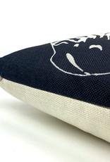 Zebra sofa cushion