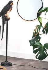 Parrot floor lamp