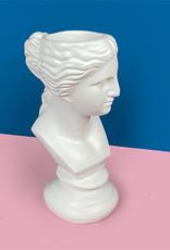 """Roman statue bust vase """"Diva"""