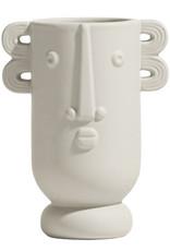 """Hippe design vaas met gezicht """"Koko"""""""