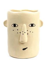 Hippe hoofd vaas