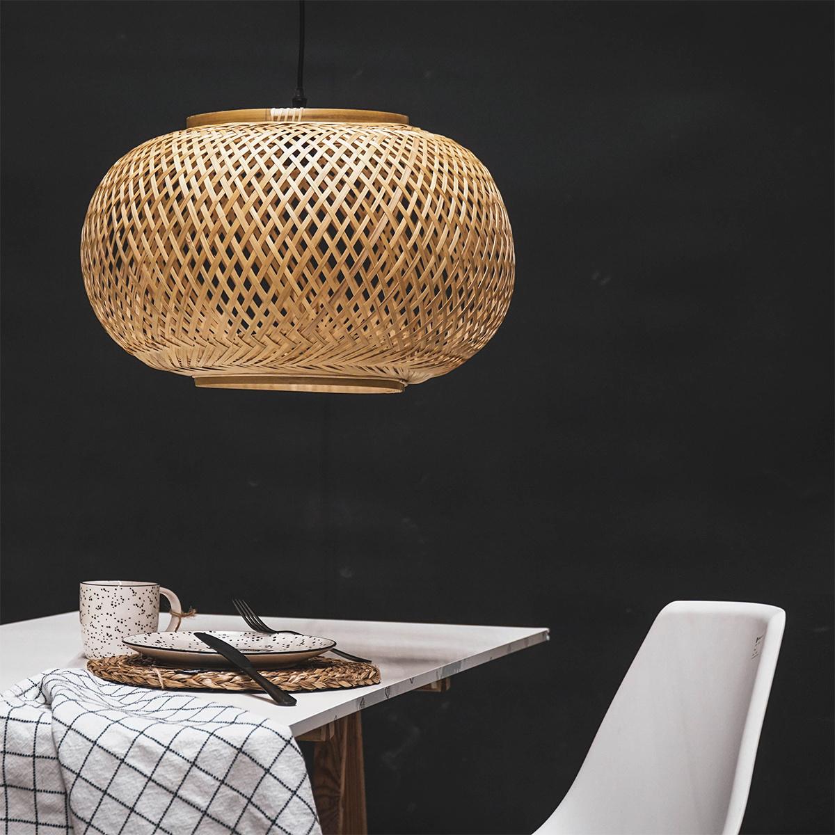 Modern design bamboo pendant lamp
