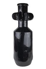 "Large black vase ""Miko"""