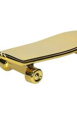 Gouden skateboard bord
