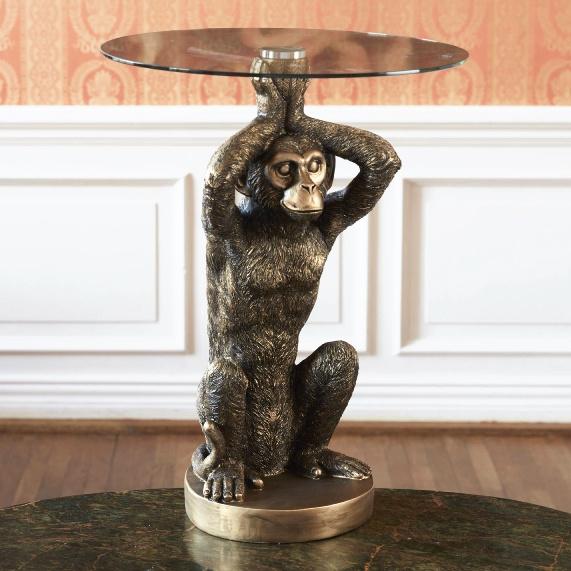 Gouden aap bijzettafel