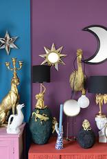 Gold elephant table lamp