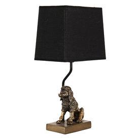 Poedel tafellamp