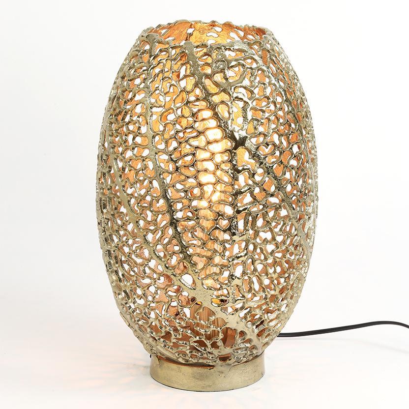 """Gouden bladeren tafellamp """"Leaves"""""""