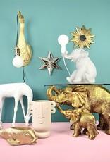 Grijze olifant kinderkamer tafellamp