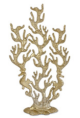Gold coral table decoration