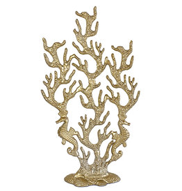 Gold coral decoration