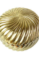 Gold deco box with lid