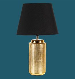 Gold table light