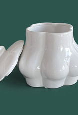 Ceramic butts container