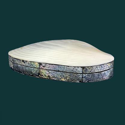 Luxury shell jewelry box