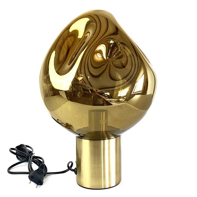 "Luxe gouden design tafellamp ""Gloria"""
