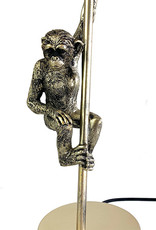 Table lamp with monkey