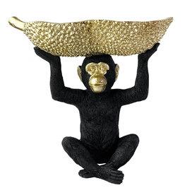 Monkey with bowl decoration - L