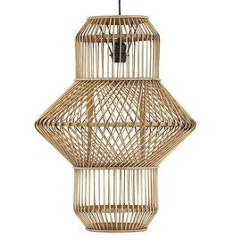 Hoge bamboe hanglamp