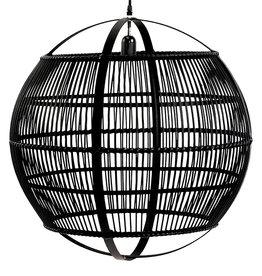 Black bamboo lamp - L