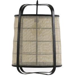 Linnen hanglamp - L