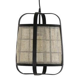 Linnen hanglamp - S
