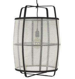 White linen lamp - L