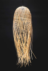 Bamboe houten kwal hanglamp
