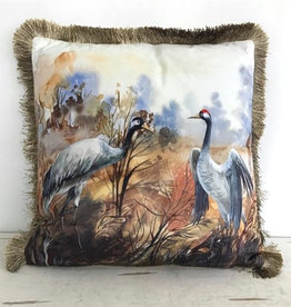 Cushion / Crane Birds