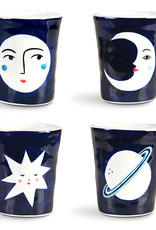 Set of 4 mugs in a gift box