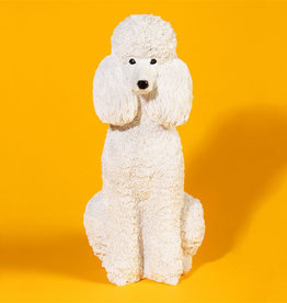 Poodle coin bank
