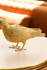 Gouden duif spaarpot of beeld