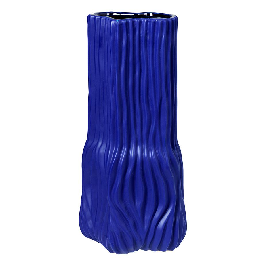 Large blue Danish design vase