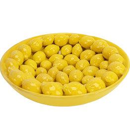 Ceramic lemons plate