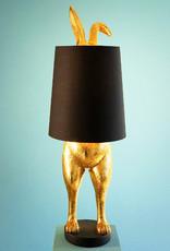 "Verstopt konijn ""Hiding Bunny"" design tafellamp"