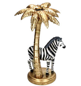 Zebra candlestick