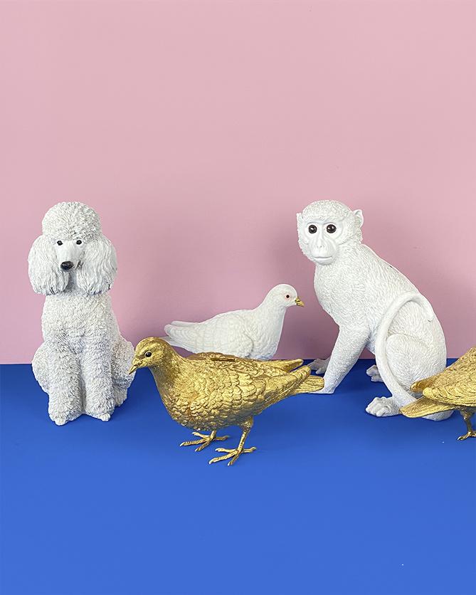 Witte aap spaarpot