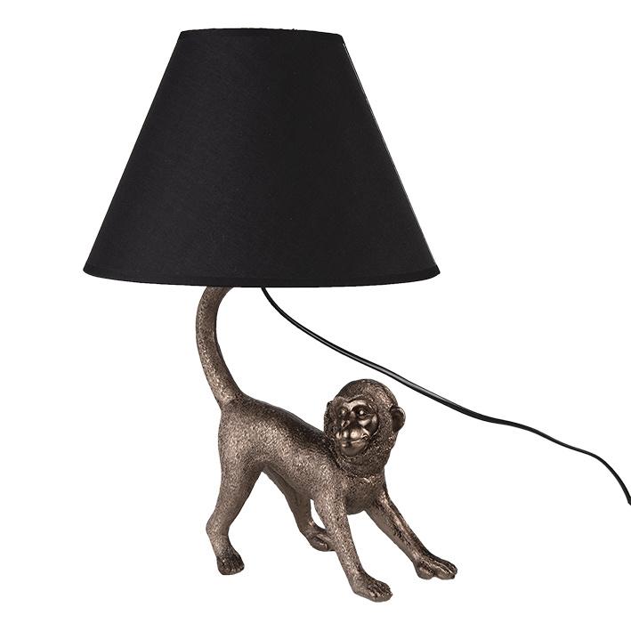 Monkey lamp with light shade